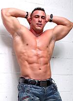 MMA fighter and bodybuilder Barry Bangor