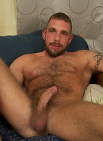 Johnny Parker strokes his dick