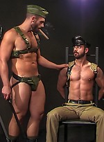 Muscle hunks Bob Hager and Dolan Wolf oral sex