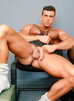 Hot bodybuilder Jake Tanner
