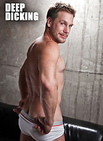 Blond Bottom Justin Cruise Takes Hans Berlin's Uncut Daddy Dick