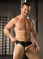 Jockstrap: Muscular guys posing