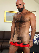 Muscled bear Marco Rios