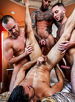 Dylan James' Raw Foursome