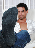 Sawyer's Socks and Stunning Feet