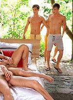 Pip, Bastian, Kieran & Jason